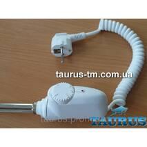 ЭлектроТЭН Heatpol 3GM white каплевидный корпус в полотенцесушитель, с регулятором 10-65С + индикация; Польша