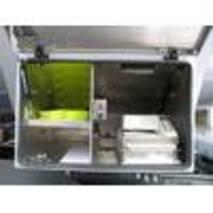 Полуприцеп с алюминиевой цистерной формы Koffer 3-х осный