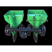 Картофелесажалка двухрядная для мото-трактора КСН-2МТ-90