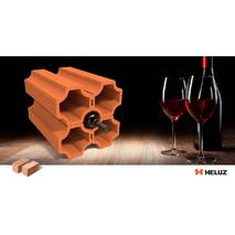 Керамические блоки для хранения вина