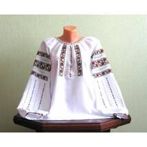 Гуцульская вышиванка женская ручной работы