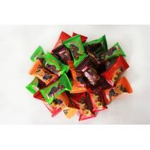 """Набір (мікс 4) глазурованих цукерок """"Сухофрукти з горіхом"""" 1,350 кг"""
