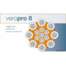 Veropro 8 - спеціальний сталевий канат для баштових кранів