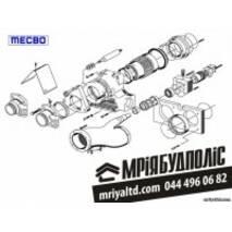 MECBO 01111006 S-Valve P6 Шибер для бетононасоса Пульсар 6