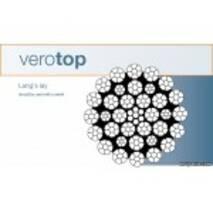 Verotop - спеціальний сталевий канат для баштових кранів