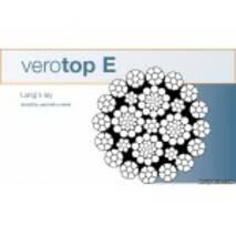 Verotop E - спеціальний сталевий канат для баштових кранів