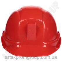Каска ШАХТЕР (красная)