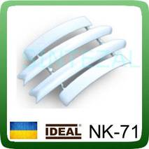 """Комплект соединительной фурнитуры для наличника """"ИДЕАЛ"""" NK-70. Венге чёрный"""