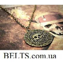 """Монета ацтеків з фільму """"Пірати Карибського моря"""", кулон """"Монета ацтеків"""""""