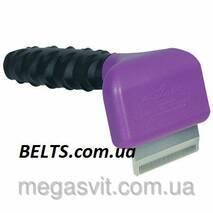 Щітка для вичісування шерсті - фурминатор DeShedding Tool, малий 4,5 см Дешединг Тул