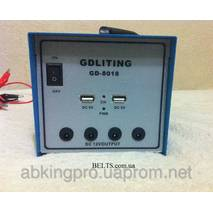 Сонячна система електропостачання GDLite GD - 8018, домашня система від сонячної енергії GD - 8018