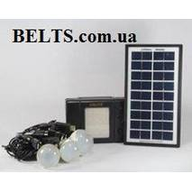Сонячна система GD - 8076 (лампи з сонячною батареєю 8076)
