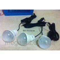 Електростанція на альтернативних джерелах енергії GD - 8018, (сонячна система з лампами Solar Home System GD