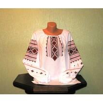 Традиционная украинская рубашка вышитая ручной работы, женская