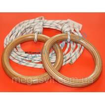 Надійні гімнастичні кільця (для дорослих gymnastic rings)