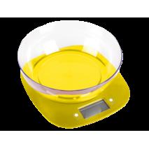 Электронные кухонные весы с чашей Magio MG-290 5кг Желтый