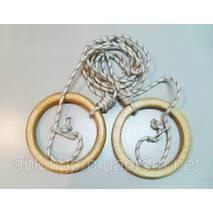 Міцні гімнастичні кільця для дорослих (gymnastic rings)