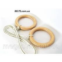 Гімнастичні кільця для дітей (gymnastic rings) Лак