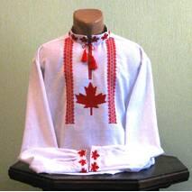 Канадская вышиванка ручной работы