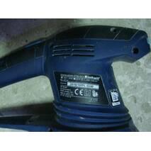 Эксцентриковая шлифмашина Einhell BT-RS 420 E на запчасти