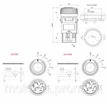 Перемикач швидкостей вентилятора отопителя