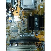 Материнская плата Asus P5GDC Pro сокет 775 и процессор Pentium 4