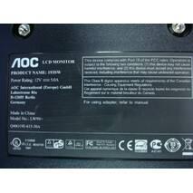 """Широкоформатный 19"""" ЖК монитор AOC 193SW"""
