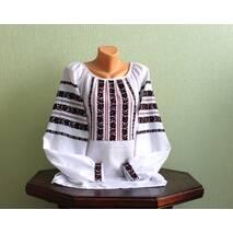 Традиционная украинская рубашка вышитая ручной работы