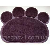 М'який килимок для домашніх тварин Paw Print Litter Mat (підстилка для вихованців Поу Принт Литл Мет)