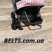 Практична сумка на 6 колесах із стільцем (візок із стільчиком)