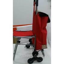 Сумка візок з доладним стільцем (6 коліс)