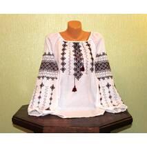 Рубашка-вышиванка женская ручной работы