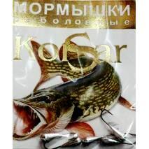 Мормышка Korsar Капелька (уп.20х5шт) оксидированный темный