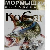 Мормышка Korsar Кристалл большой (уп.20х5шт) оксидированный темный
