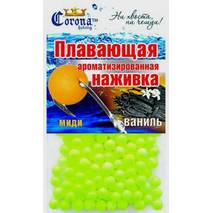 Наживка плавающая ароматизированная Сorona® ( миди) Ваниль