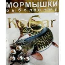 Мормышка Korsar Дробинка большая №3 (уп.20х5шт) оксидированный темный