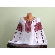 Традиційна українська сорочка вишита ручної роботи великого розміру
