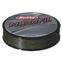 Шнур Berkley Nanofil Green 125м, 0,17 темно-зеленый