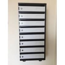 Ящики поштові колективні для для багатоквартирних будинків на 8 квартир