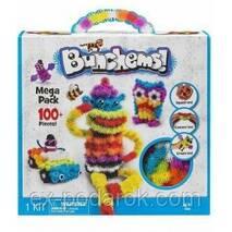 Конструктор вязкий пушистый шарик Bunchems (Банчемс) 100+(100 деталей).