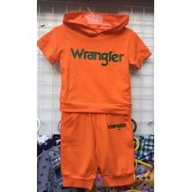 """Детский костюм для мальчика """" Wrangler"""" оптом 92-110 оранжевый"""