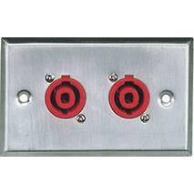 SoundKing SKAJ 118 панель для АС з роз'ємами, 2 гнізда speakon