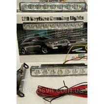 Денні ходові вогні DRL 8 LED діодів