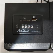Комп'ютерні стерео колонки Ailiang USBFM - E013