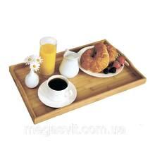 Складной бамбуковый столик для завтрака