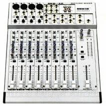 Mekse MS14 пульт мікшера, 6 моно   4 стерео каналу
