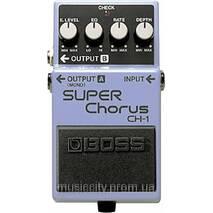 Boss CH1 педаль для гітари, ефект - Chorus