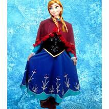 "Анна, ""Холодное сердце"", костюм аниматора"