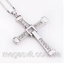 Кулон крест Торетто (Вин Дизеля из фильма «Форсаж»)