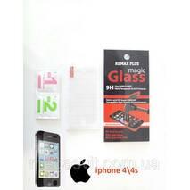 Захисне скло для Iphone 4/4s (на айфон)